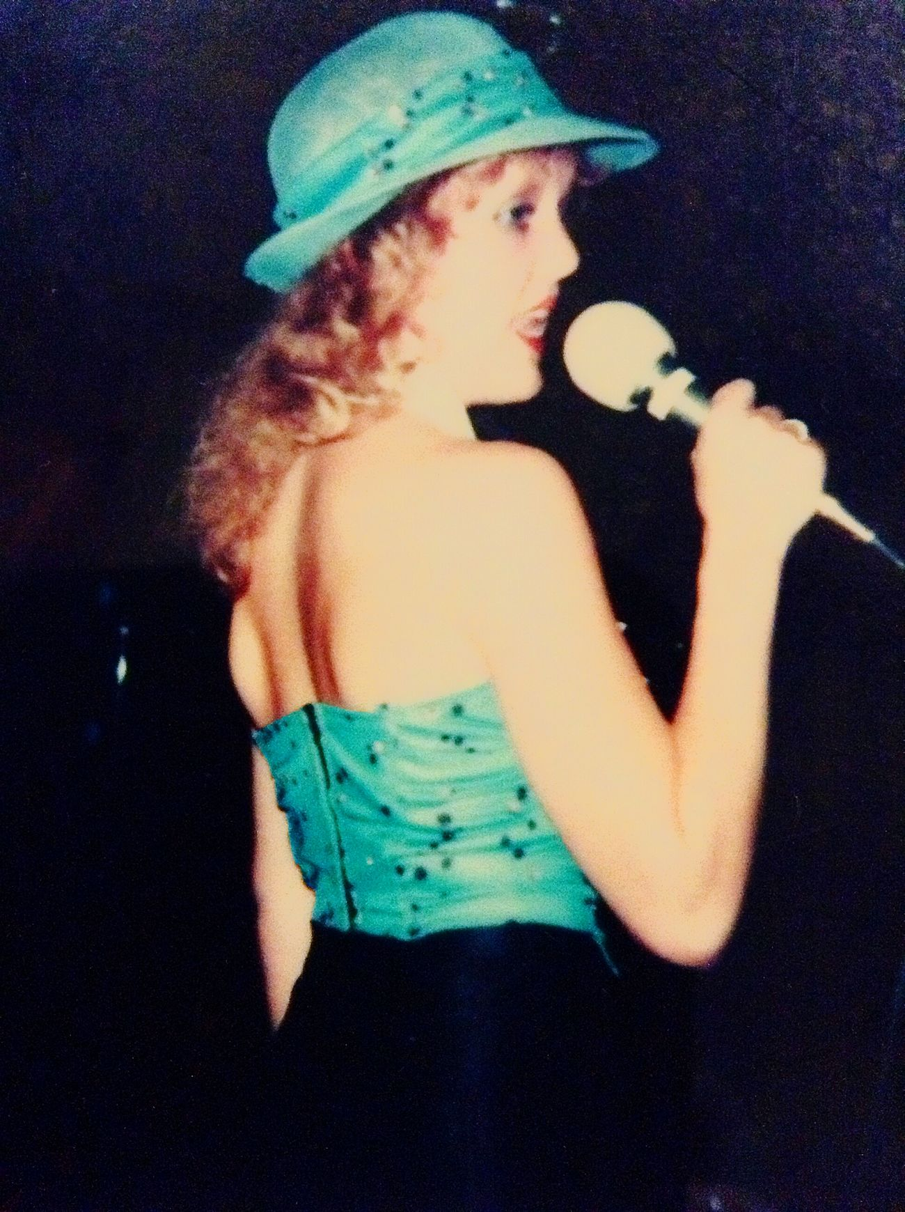 Vintage Thats Me  Singing in a Show Band All-female Band called Motherfunk 1979 I was 19 yrs old