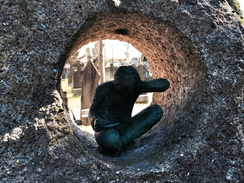 Looking To The Other Side Cemetary Perspectives Travel Photography Traveling Sculpture Art Death Streamzoofamily