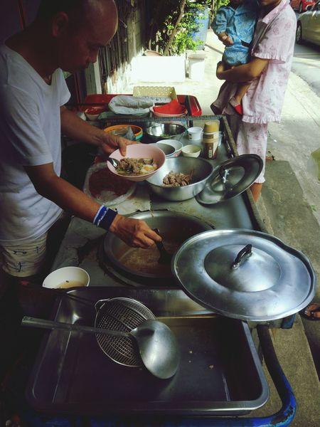 โจ๊กหัวล้าน Thailand Thailandstreetfood Thai Food Thaistreetfood