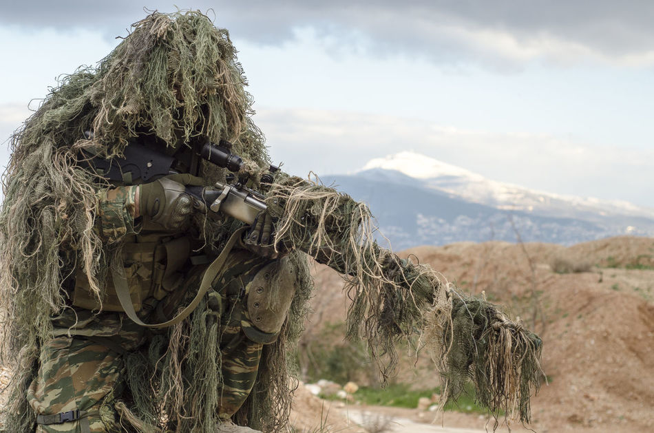 Beautiful stock photos of army, 30-34 Years, Aiming, Alertness, Armed Forces
