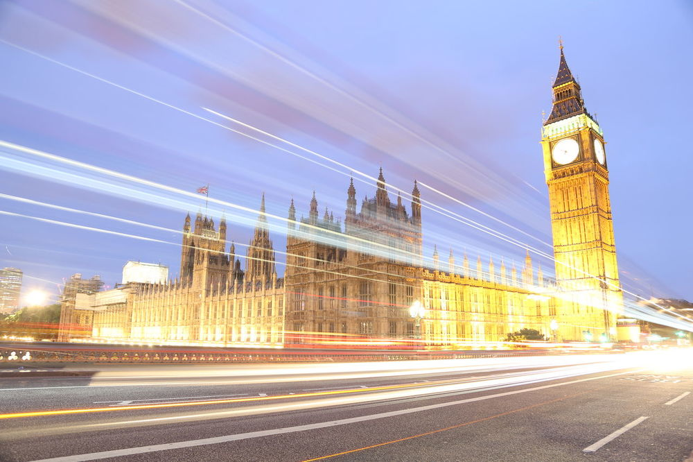 EyeEm LOST IN London Architecture Bigben Blurred Motion Building Exterior Built Structure City Clock Tower Illuminated Light Trail Long Exposure Motion Night No People Outdoors Road Sky Speed Tower Transportation Travel Destinations
