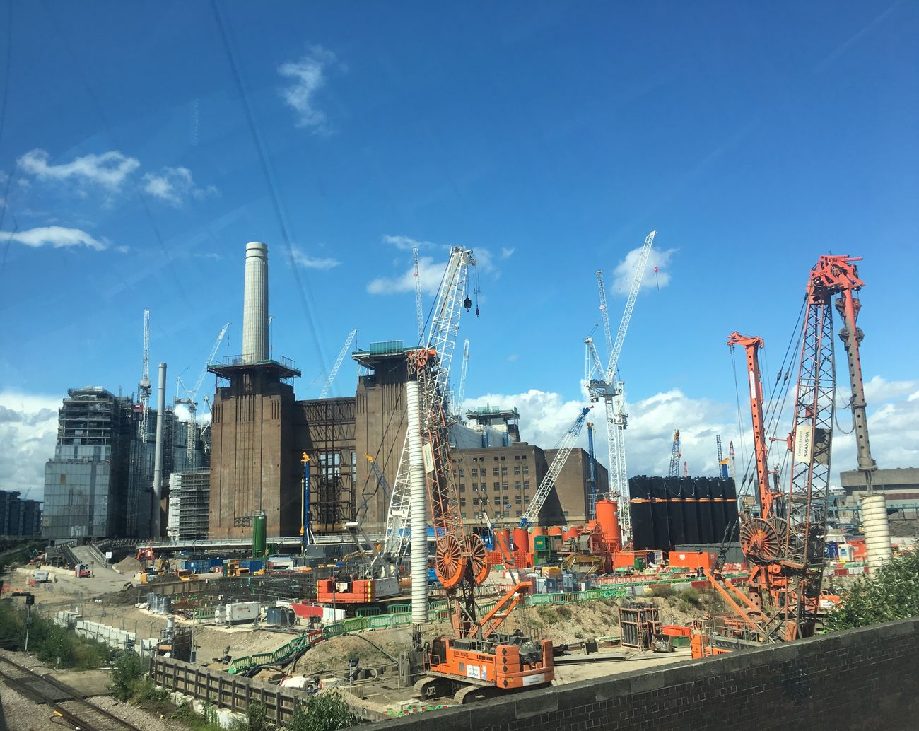 Battery Park Battersea Power Station Building Exterior Buildings & Sky Hello World View