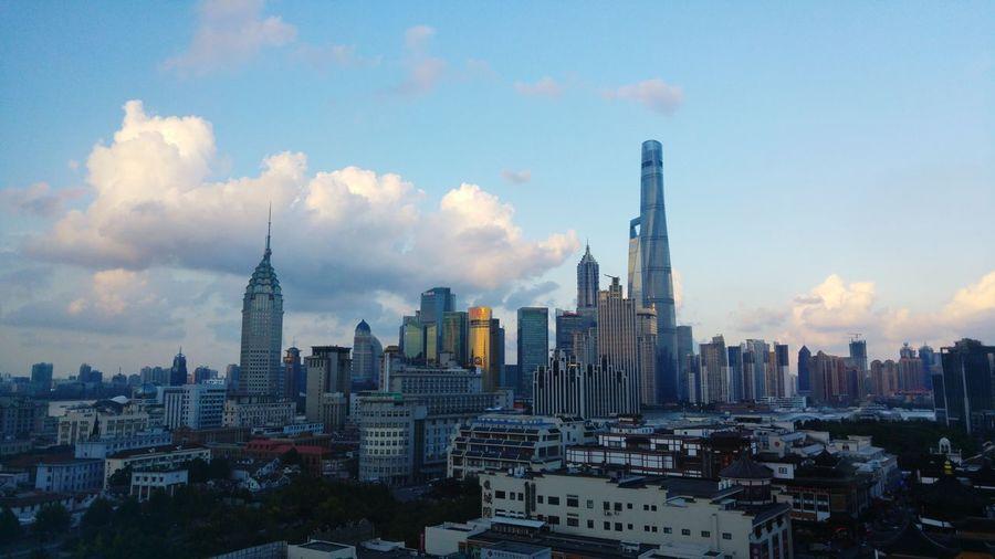 Shanghai The Bund Skyline