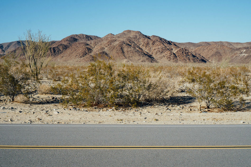 Beauty In Nature Desert Dry Mountain Nature Nature Scenes Road Sand Tranquil Scene
