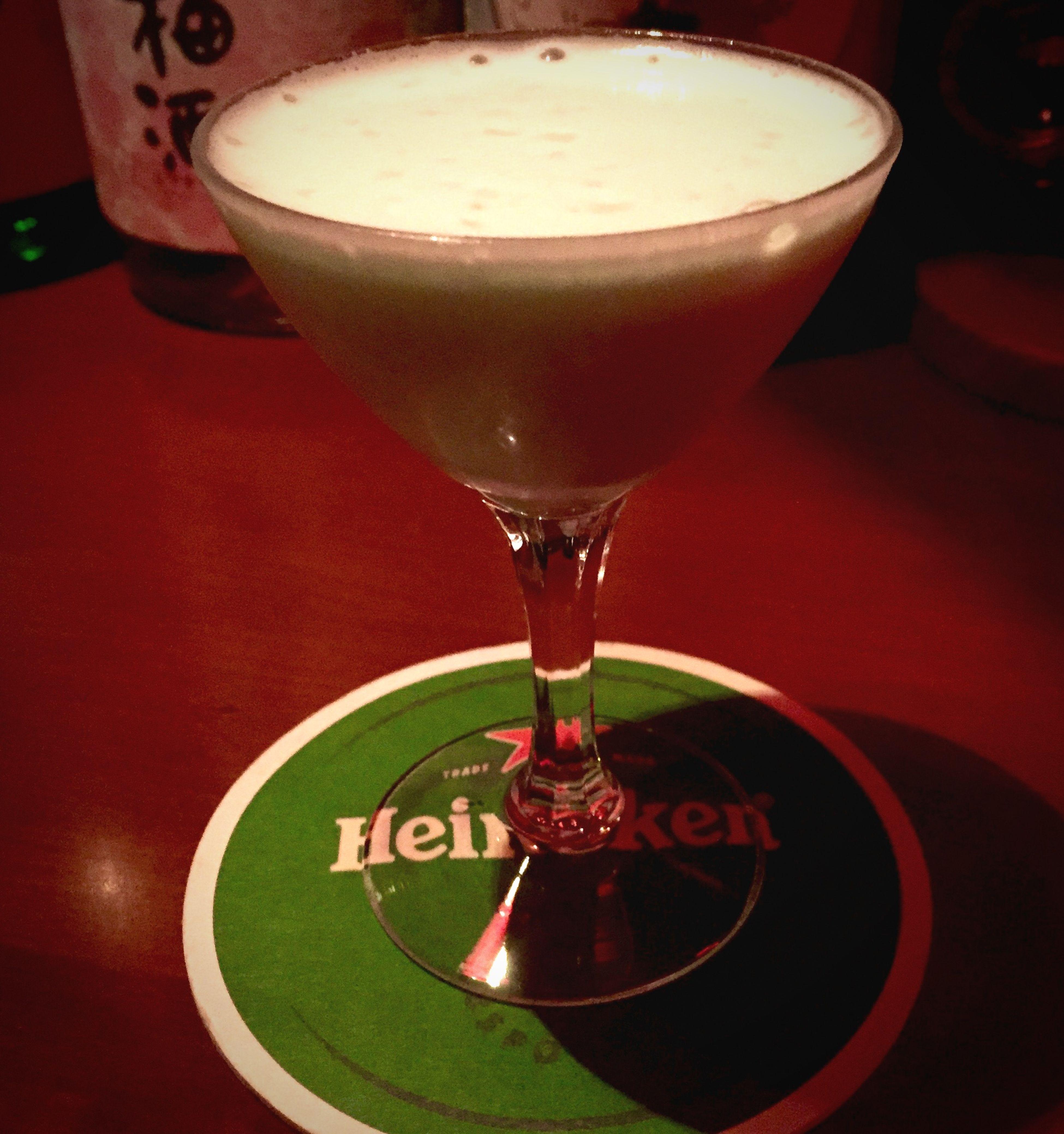 Enjoying Life Nightlife Bar Cocktails Glasshopper Relaxing