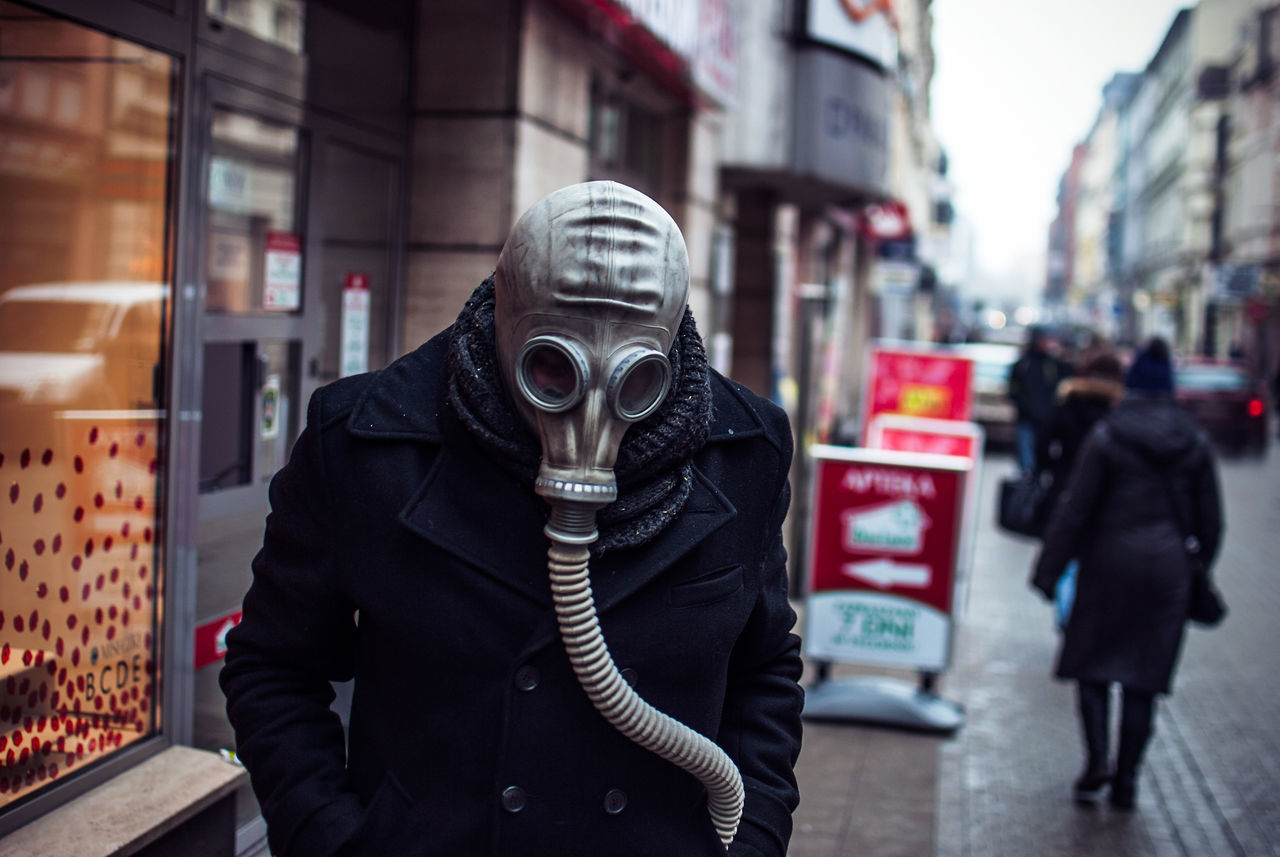Air Quality Breath Building Story City Energy Europe Gas Mask Health Light And Shadow Nikon Politics Portrait Protest Science Science Fiction Smog Statement Story Storytelling Street The Week On EyeEem Urban
