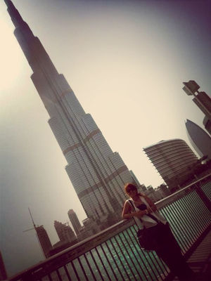 Exploring in Dubai by chade Eyas