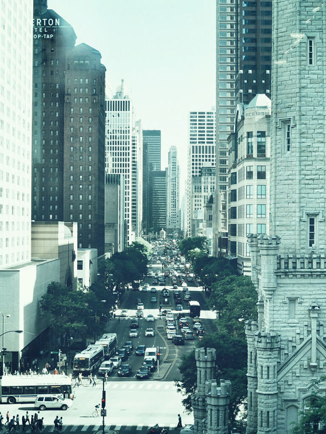 People will be incredibly excited in the Windy City this fall ⚾🐻 Chicago Chicago Cubs MLBBaseball Uniqlo Magnificent Mile Cityscapes City Life 都会 建築 アメリカ Chicago Loop Downtown 海外 MidWest Architecture EyeEm Best Shots
