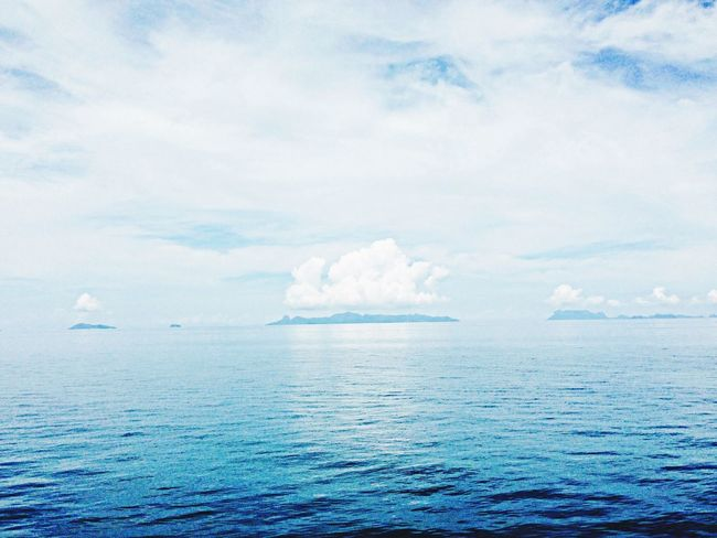 Islands in the gulf of thailand with their own Clouds The EyeEm Facebook Cover Challenge