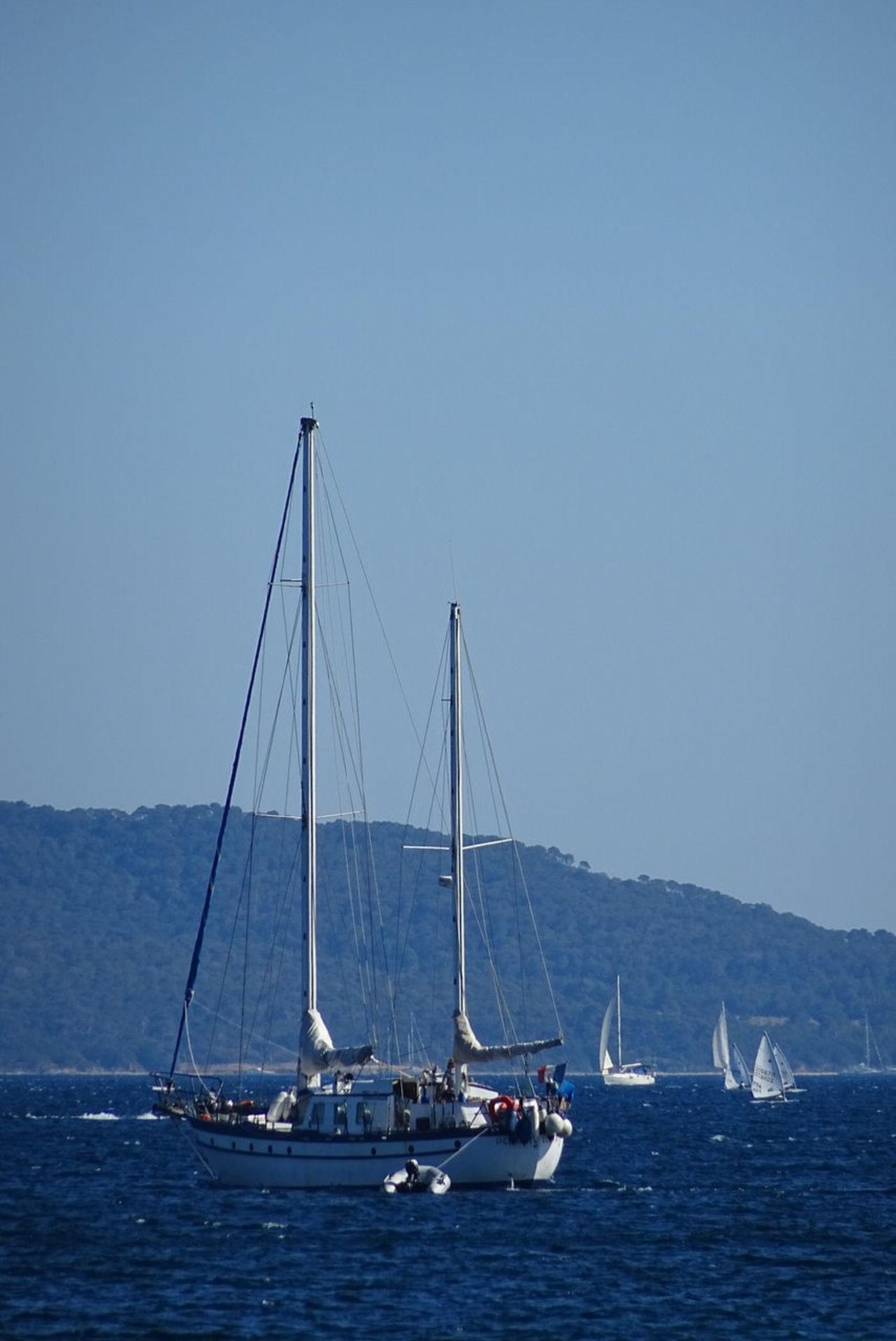 Sailboat Blue Water Sky Bateau ❤️ Voiles Et Voiliers Plaisance Mer