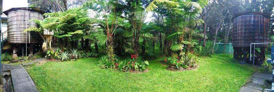 Kilauea Lodge Water Tanks Water Tank Big Island Big Island Hawaii