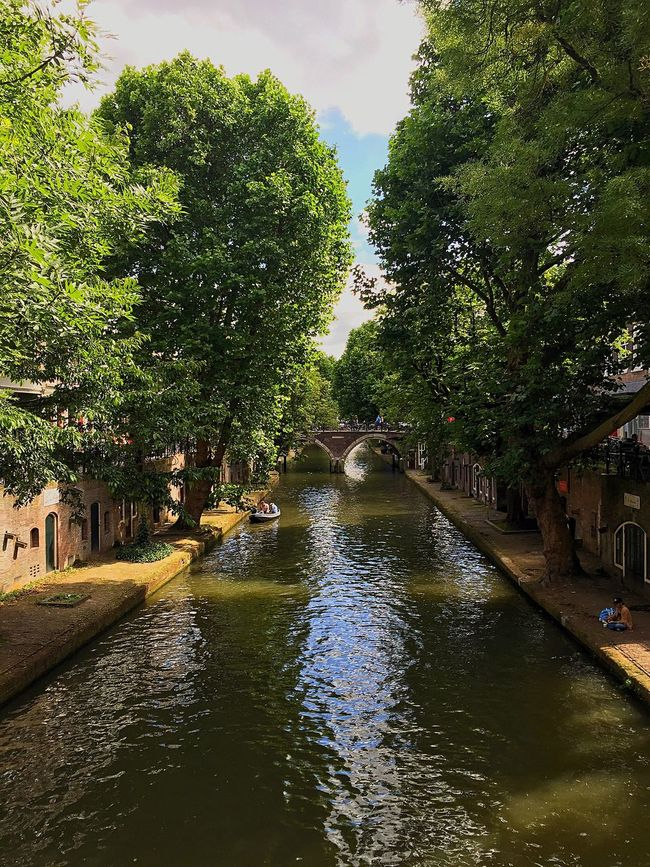 Utrecht Nature Nature_collection Water Water Reflections Clouds Trees Green Urban Streetphotography On The Way Cityscapes Eeyem Photography (null)EyeEmBestPics Eye4photography  EE Love Connection! Light And Shadow Outdoor Photography Travel Outdoors Perspective Angle