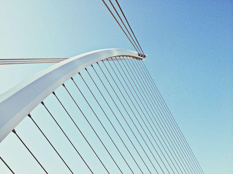 Beautiful stock photos of dublin, Architecture, Bridge, Built Structure, Cable-Stayed Bridge