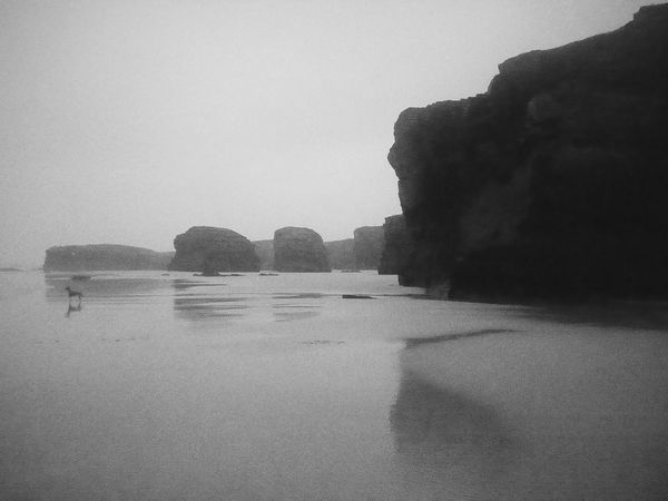 The KIOMI Collection Monochrome Beachphotography Rocks Rock Formation Water Erosion Erosion Nature_collection Nature Photography Beach Photography Solitary Solitary Moments Freedom Free We Are Small