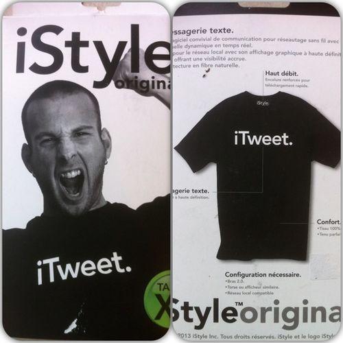 Ze t-Shirt ITweet de chez IStyle , comme ça dans la rue on le saura!!! Picframe