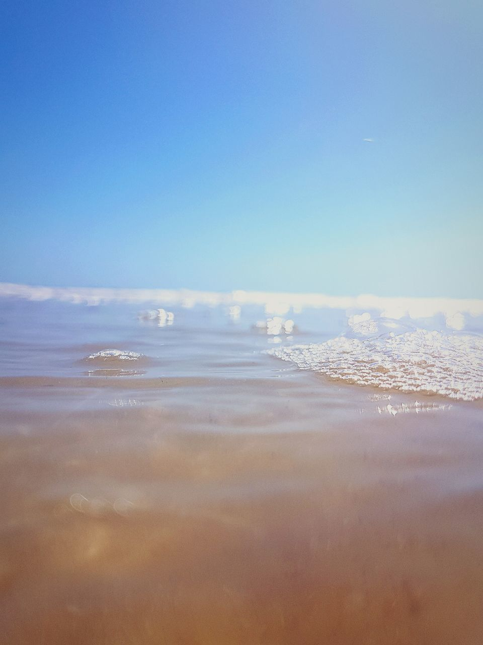 sea, nature, beauty in nature, water, scenics, tranquility, no people, wave, tranquil scene, outdoors, sky, blue, beach, day, horizon over water, clear sky, close-up