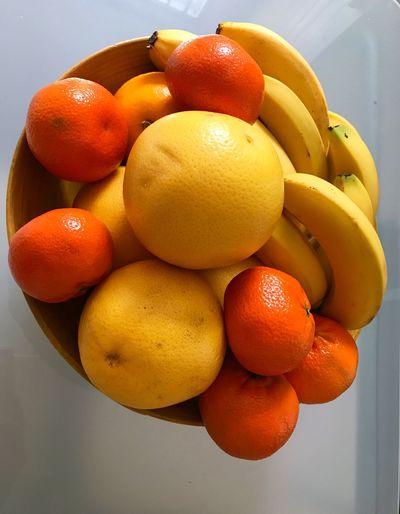 Orange - Fruit Healthy Eating Orange Color Yellow Freshness Delicious ♡ Whitegrapefruit 😚 Banana Mandarin Oranges 🍊 🍌