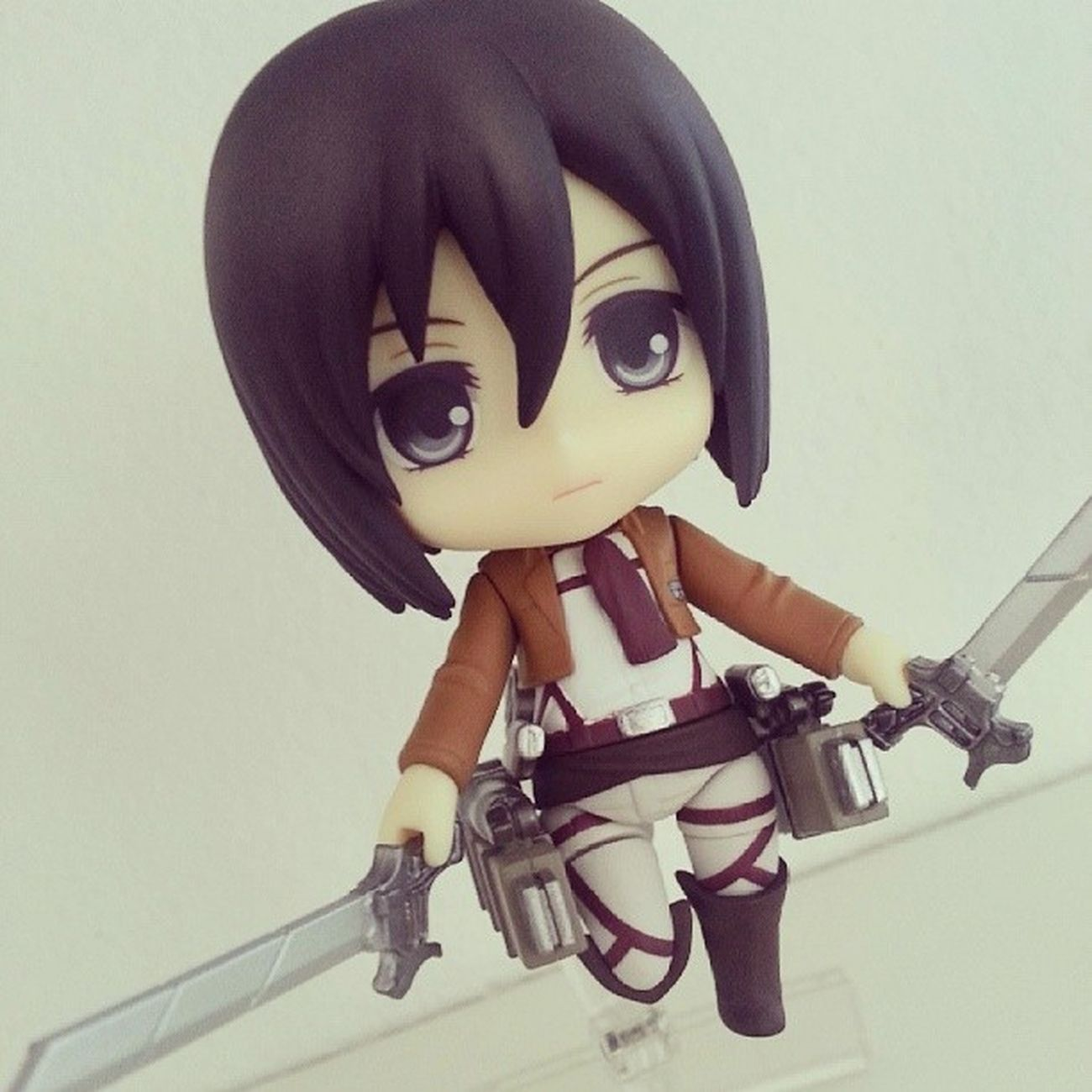 Mikasa Ackerman Nendoroid (Good Smile Company) Mikasaackerman Ackerman Attackontitan Figure ShingekiNoKyojin Shingeki Nendoroid anime manga Collection