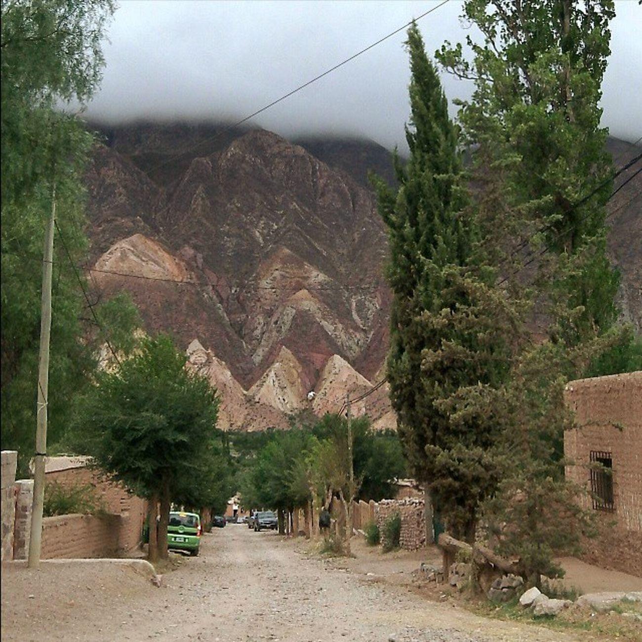 Cerros en Maimará, desde el Hostel La Casa Chica, Jujuy Maimara Jujuy CasaChica