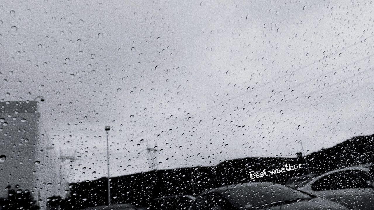 Raindrops Rain Rainy Days SoCal California Sky And Clouds Views Sky Wintertime Winter Morning