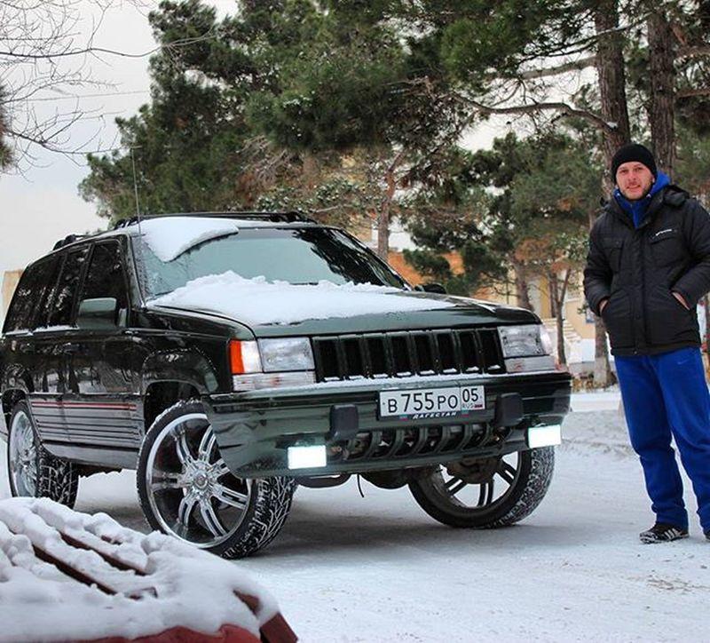 Zjlove Jeepgrandcherokeeclub Grandcherokee  Zjmafia Zjfamily Grandzj Dubstyle Vctwheels R22 Dagestan Kaspiysk Park Snow Beauty V8