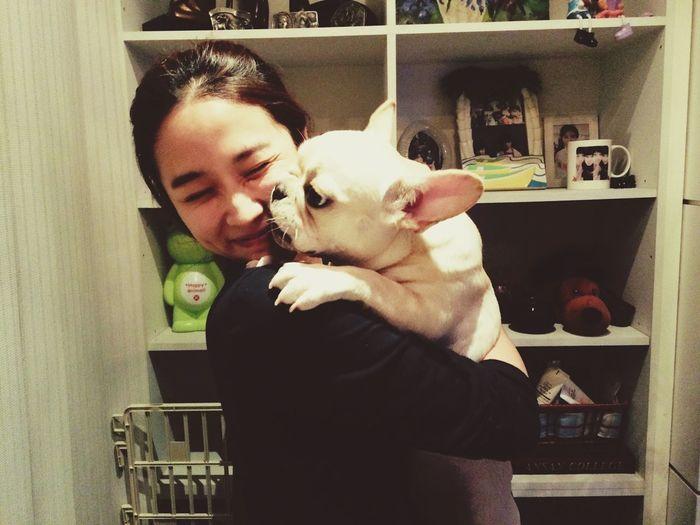 My Puppy ❤ My Friend Frenchbulldog Cream