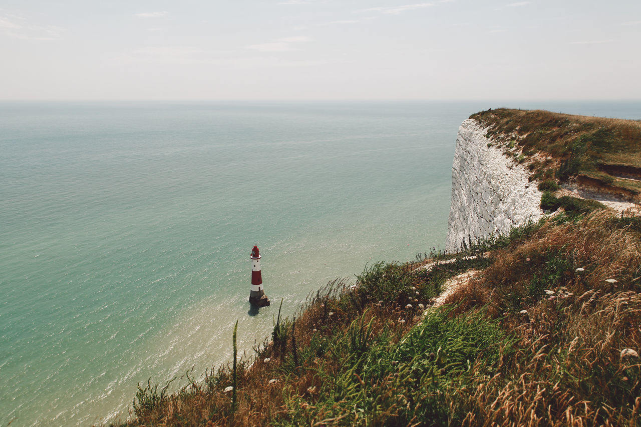 Beautiful stock photos of sicherheit, Beauty In Nature, Cliff, Day, Eastbourne