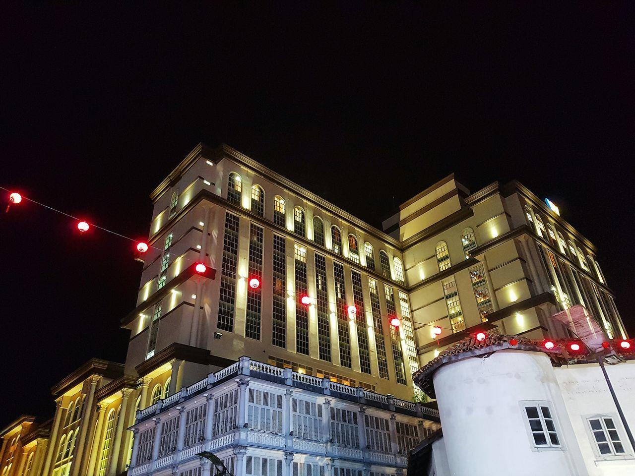 People And Places Kuching Kuching, Sarawak Kuching_waterfront Merdeka Plaza Nightlights Lantern