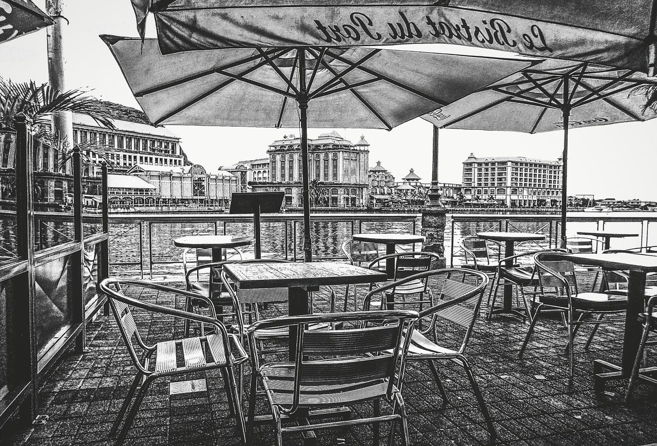 Waterfront bistro in Port Louis, Mauritius Outdoors Outdoor Photography Street Photography Explore Beautiful Landscape_Collection Urbanphotography Urban EyeEm Best Shots Mauritius Urban Exploration Street Amazing View Architecture Blackandwhitephotography Bw Streetphoto_bw Bw_collection Blackandwhite Landscape EyeEm Best Shots - Landscape Travel Travel Destinations Travelphotography Islandlife