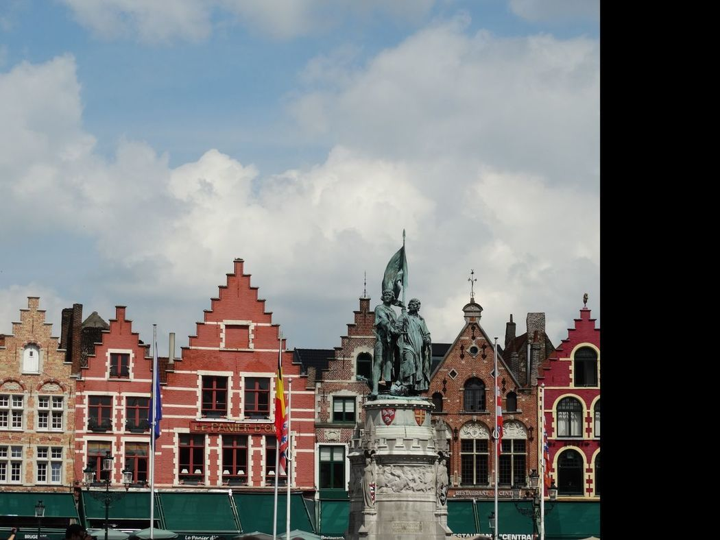 Architecture Business Finance And Industry No People Outdoors Cityscape City Sky Day Brugge Travel Cityscape Flamand Architecture Brugges Belgium Building Exterior Low Angle View Travel Destinations Architecture Flamand Downtown District City Tourism Central Place