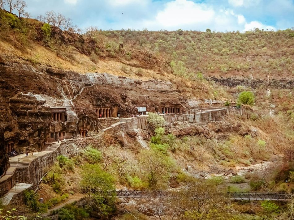 The Great Outdoors With Adobe Nature Landscape Landscape_photography Sky Blue Sky Blue Ajanta Ajantacaves India Nagpur Vscocam Latergram Doubletap Summer Check This Out Skylovers Naturelovers Nature Photography