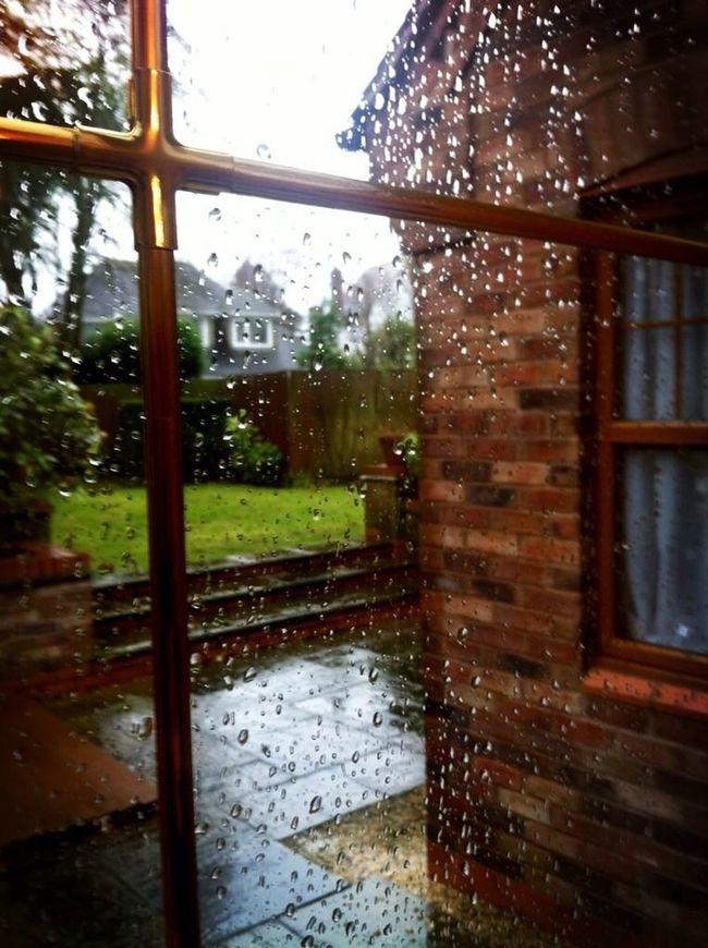 England, always raining.