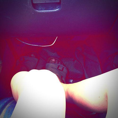 Legs Underground Undergroundphotography Inthecar