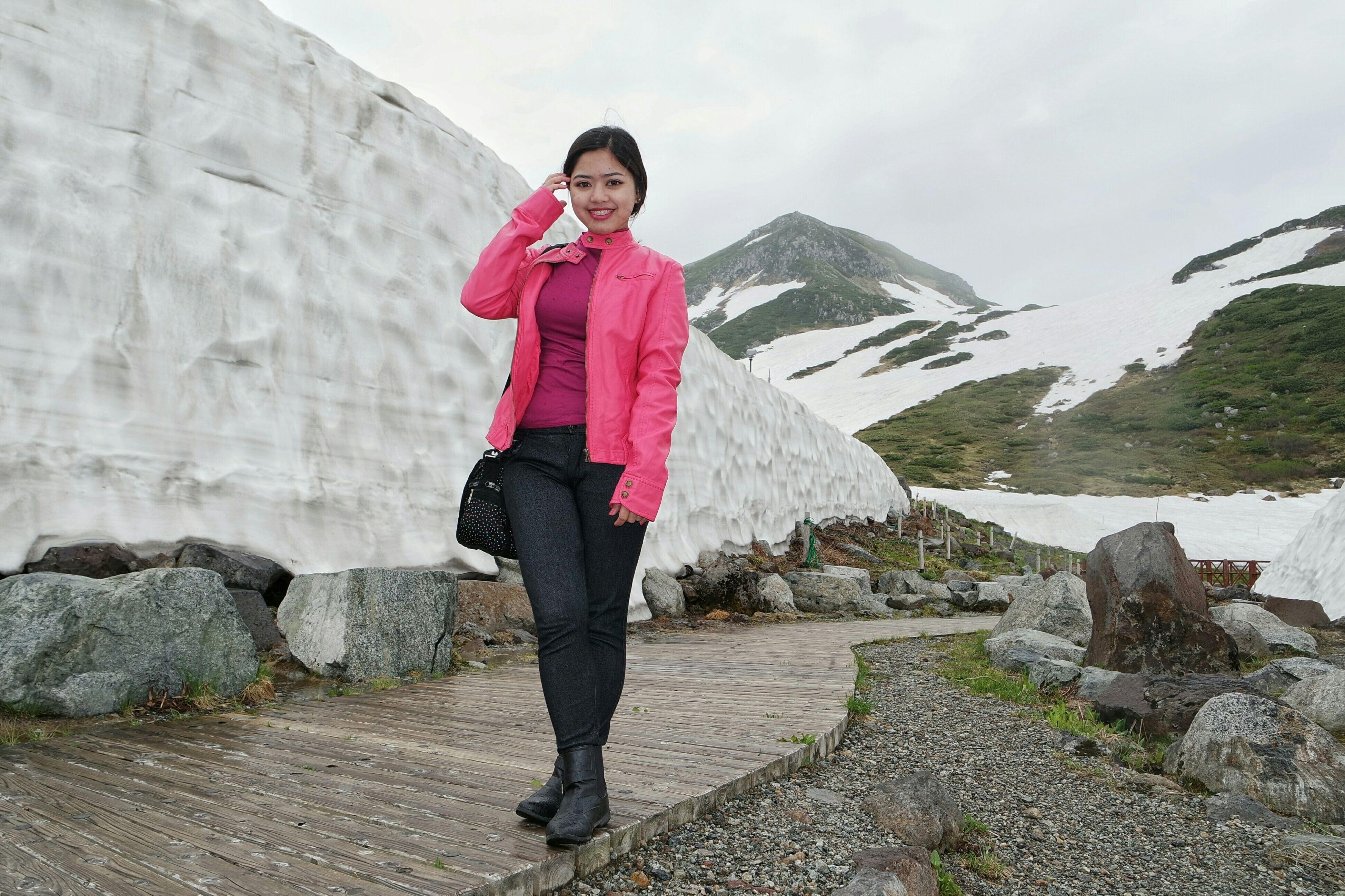 Tateyama Snow Wall 😊😄😁 Tateyama Alpine Route Toyama, Japan Snow Miss Pink Filipina Eyeem Pinay The Traveler - 2015 EyeEm Awards Travel
