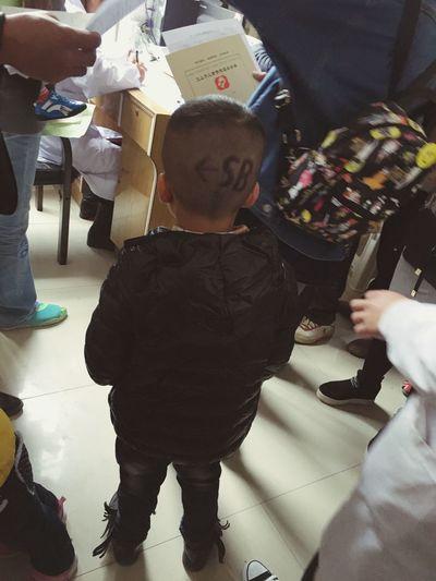 好酷的发型 Cool Kids Hairstyle