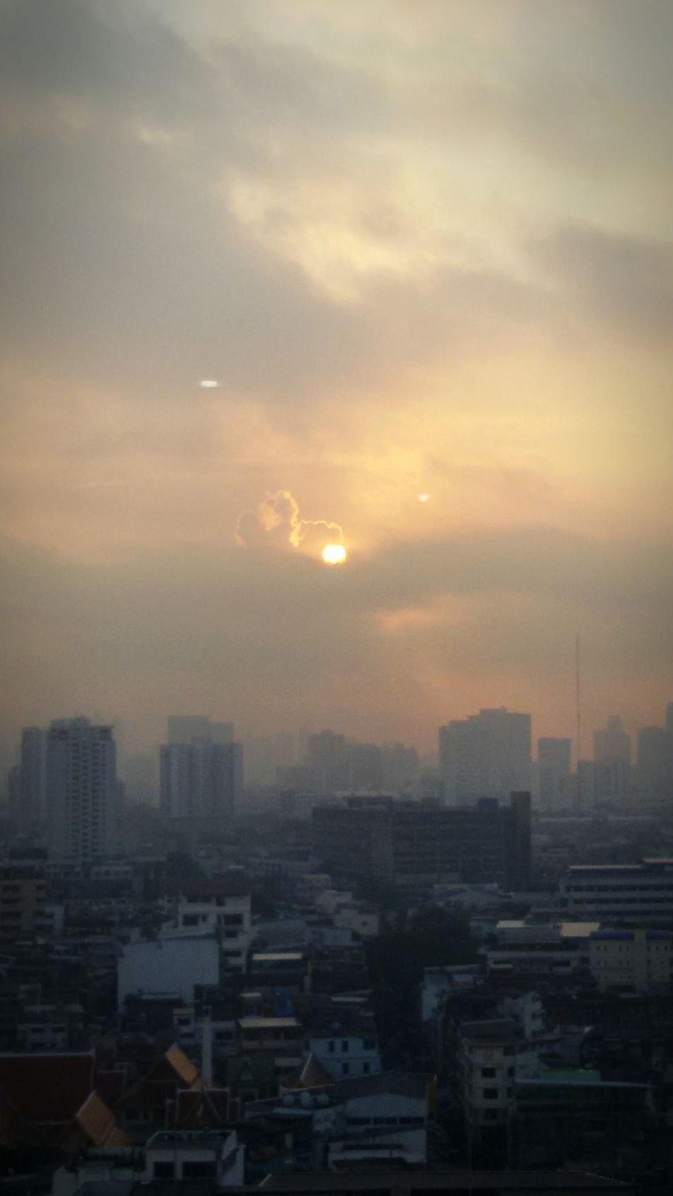 Beautiful Day, Beautiful Clound&Sky, Sunrise, nice rising, Getting In Spired. .