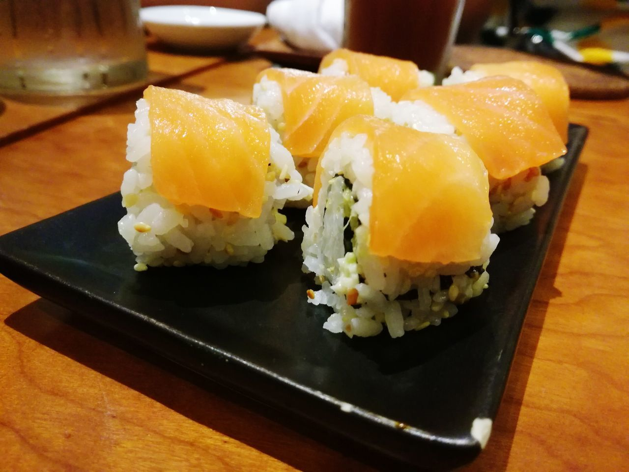 food, food and drink, indoors, healthy eating, ready-to-eat, freshness, japanese food, close-up, serving size, no people, seafood, sushi, day