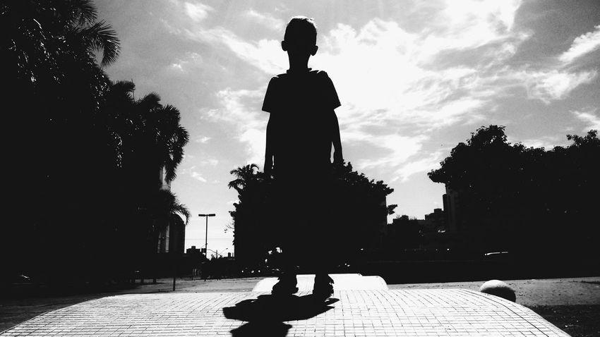My Son Blackandwhite B&W Collection Atthepark Taking Photos Walking Around