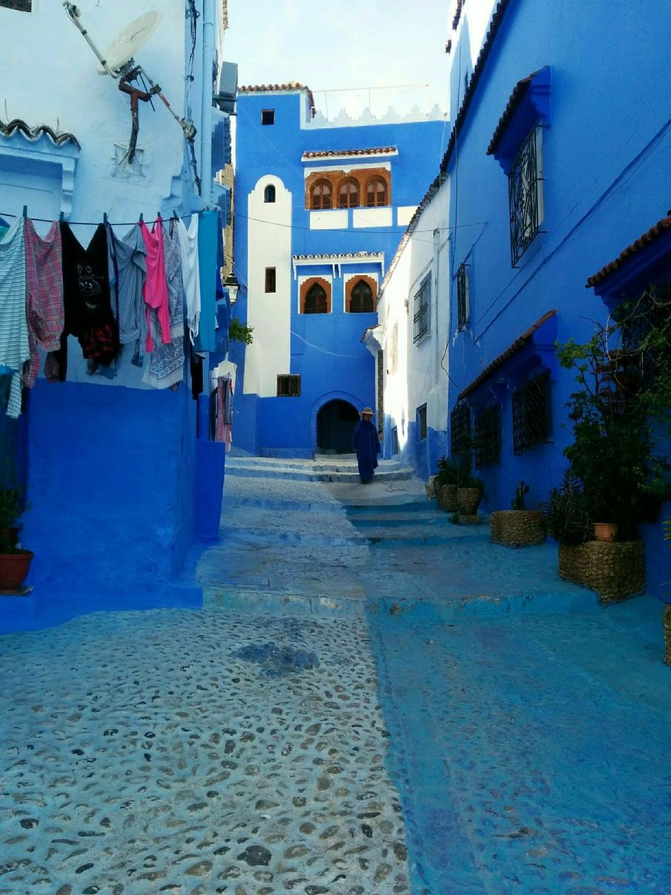 Architecture Building Exterior Built Structure Outdoors Day No People City Sky Low Angle View Architecture Street Morocco Steps Stair City