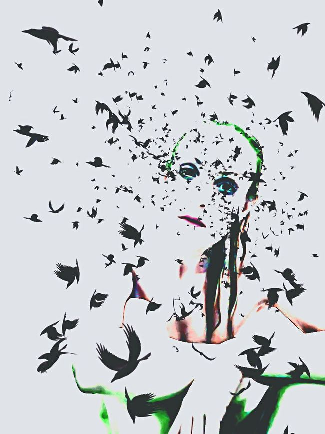 Showcase: February Modern Art Sadness Emotions Selfportrait Menapause Sucks!!!! Alone Time Woman Darkart Rebelpunk Contemporary Art Portrait Imagination Digital Art Photo Manipulation Creative Photography Self Portrait More Than Just A Picture What Now Wear Your Soul Crying Shame Abstract Art Birds Bad Dreams Editing