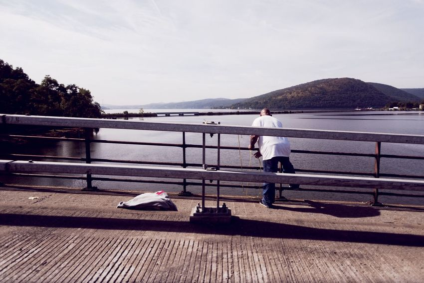 Fishing on the Hudson. Photography New York Bear Mountain State Park Hudson River Hudson Valley Upstate New York