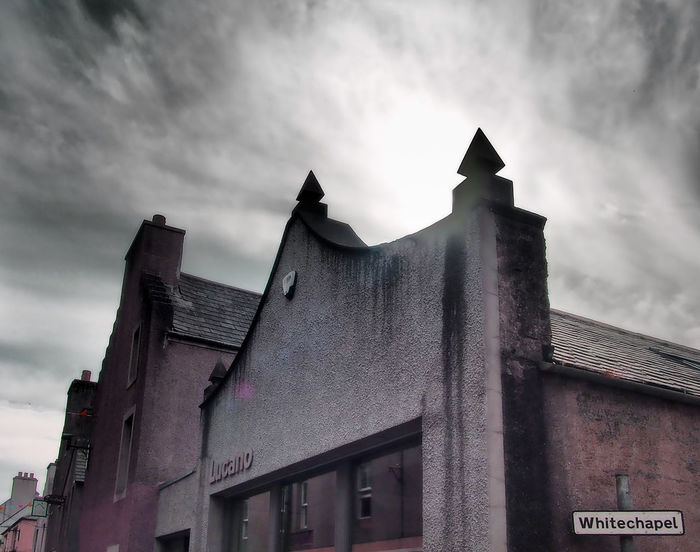 Kirkwall - Orkney Islands, Scotland Architecture Sky Day Outdoors Stormy Sky Scottish Highlands No People Remote Location Low Angle View Cloud - Sky Building Exterior Built Structure Orkney Islands Bleak And Cold Bitter In Winter 1930's Rooftops