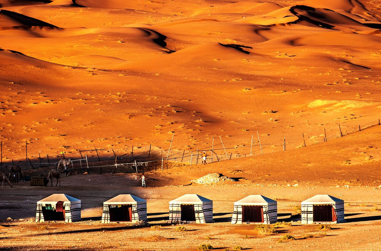 Bedouin tents on the outskirts of Al Ain, UAE. Desert Alain UAE Expat Life Bedouin Arabia