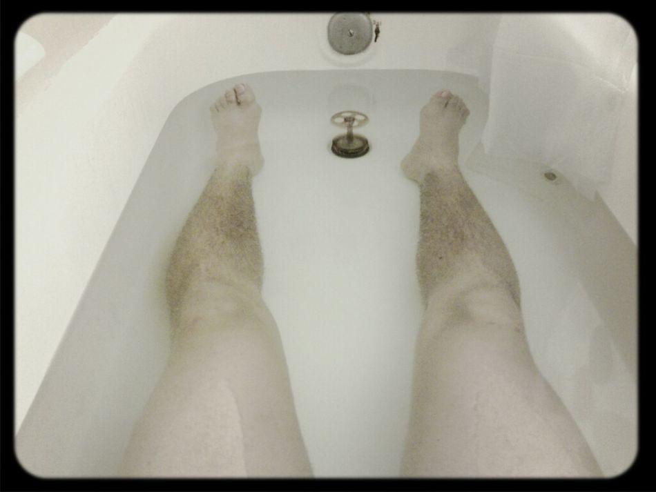 healing my legs everyday #DailyColdBath