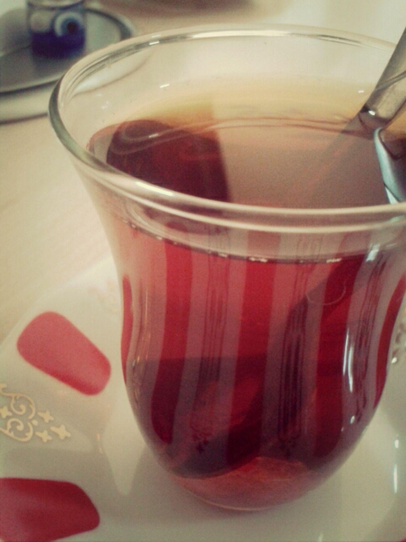 çay Is Sıcak Tekşekerli
