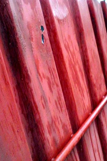 Wet Wet Fence Wet Metalic Fence Wet Metal High Angle View Brown No People Outdoors Red Eyeemphoto Eyeem Market Wolfzuachis Ionitaveronica @wolfzuachis Metalic Fence Metalic Fence Metal Metal Fence Metallic
