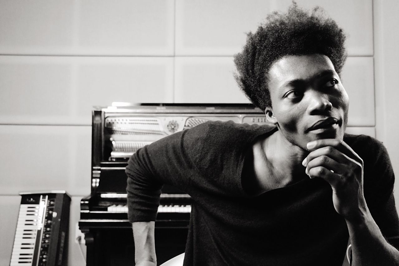 B&W Portrait Candid Light And Shadow Portrait Blackandwhite Open Edit Benjamin Clementine Monochrome Backstage The EyeEm Facebook Cover Challenge