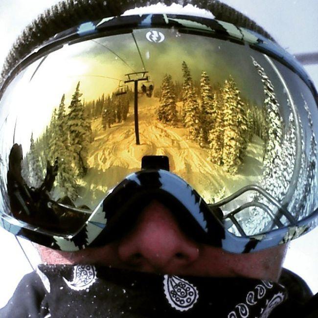 Snowboarding Electricgoggles Wolfcreek Colorado perspective