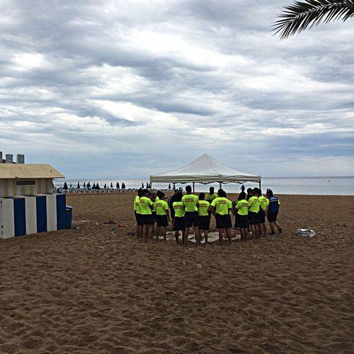 Saving lifes Bay Watch Life Guards Beach Life Saving Lives