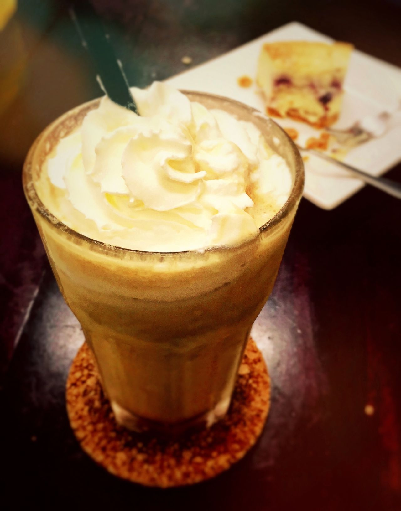 IPhoneography Foodphotography Eating Food Photography Iphone 6 First Eyeem Photo Food Porn Enjoying Life Western Food iced blended latte